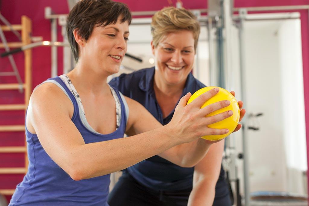 Funktionelles Training persönliches Coaching Physiotherapie Krankengymnastik Physiothek München